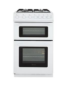 swan-sx2070w-50cm-twin-cavity-gas-cooker