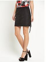 Glamorous Side Tassel Mini Skirt