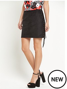 glamorous-glamorous-side-tassel-mini-skirt