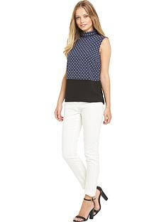 definitions-definitions-dot-print-sleeveless-blouse