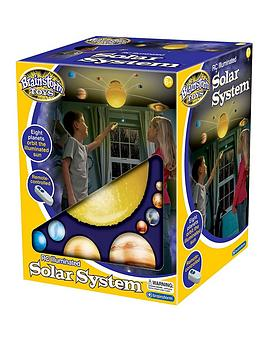 Brainstorm Toys Remote Control Illuminated Solar System