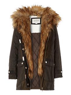 river-island-girls-parka-coat-with-faux-fur-trim
