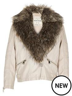 river-island-girls-phoebe-leather-look-biker-jacket-with-fur-collar