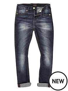 river-island-boys-chester-skinny-tapered-jeans-ndash-dark-wash