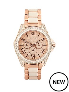 river-island-river-island-naomi-rose-gold-tone-amp-glitter-ladies-watch