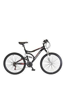 Muddyfox 26 Inch Chaos Mens Dual Suspension Mountain Bike