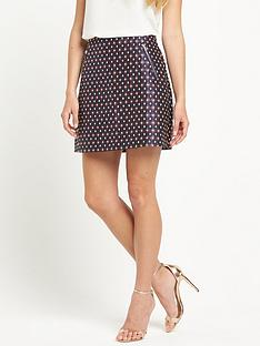 warehouse-diamond-jacquard-skirt