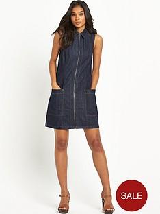 warehouse-zip-front-a-line-dress