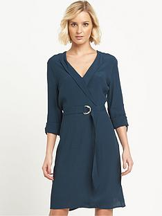 warehouse-d-ring-wrap-dress