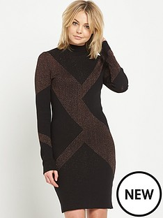 warehouse-geo-pattern-sparkle-dress