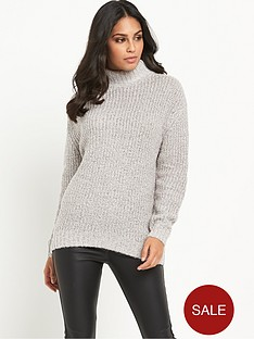 warehouse-sparkle-tweed-jumper