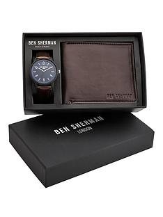 ben-sherman-ben-sherman-tan-leather-strap-watch-wallet-and-card-holder-gift-set