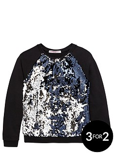 freespirit-girls-sequin-sweat-top