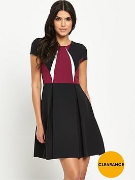 v-by-very-colourblock-skater-dress