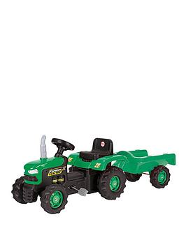 Dolu Dolu Tractor With Trailer Picture