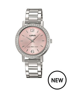 lorus-lorus-pink-sunray-dial-stainless-steel-ladies-watch