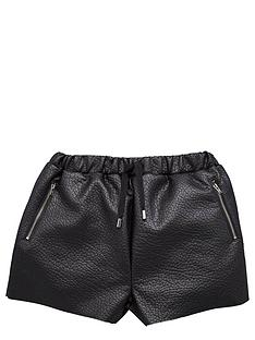 freespirit-girls-pu-shorts