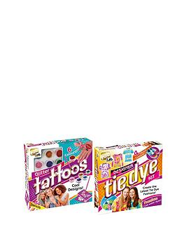 interplay-fablab-duo-pack-glitter-tattoos-and-tie-dye-kit