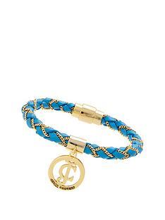 juicy-couture-braided-wrap-bracelet-blue
