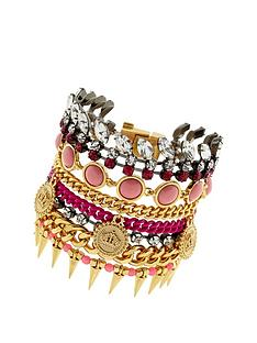 juicy-couture-multi-strand-statement-bracelet-gold