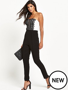 lipsy-lipsy-mono-lace-up-front-jumpsuit