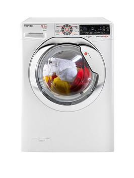 Hoover Dynamic Next Luxury Wdxt4106A2 10Kg Wash 6Kg Dry 1400 Spin Washer Dryer  White