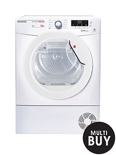 hoover-dynamic-mega-dmhd1013a2-heat-pump-10kg-sensor-tumble-dryer-white