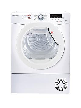 Hoover Dynamic Mega Dmhd1013A2 Heat Pump 10Kg Sensor Tumble Dryer  White