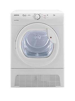 Hoover Vtc671W Vision Tech 7Kg Condenser Sensor Tumble Dryer  White