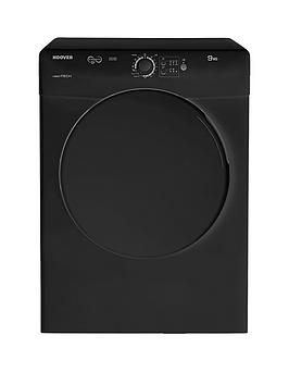 hoover-vtv590ncb-vision-tech-9kg-vented-sensor-tumble-dryer-black