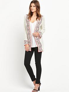 south-space-dye-neon-trim-oversized-cardigan