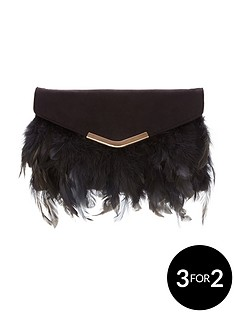 feather-envelope-clutch-bagnbsp