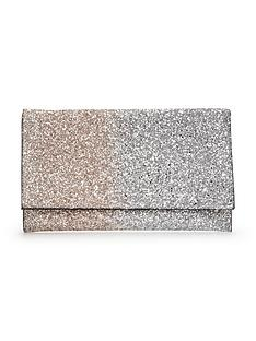 oversized-ombre-glitter-clutch-bag