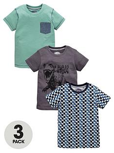 ladybird-boys-t-rex-graphic-t-shirts-3-pack-12-months-7-years