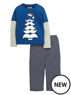 boys-christmas-moustache-pyjamas