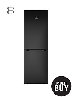 indesit-ld70n1k-60cm-frost-free-combi-fridge-freezer-black