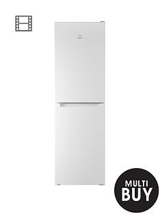 indesit-ld85f1w-60cm-frost-free-fridge-freezer-white