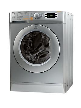 Indesit Innex Xwde861480Xs 1400 Spin 8Kg Wash 6Kg Dry Washer Dryer  Silver