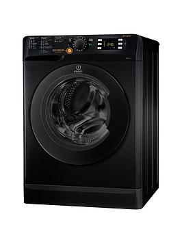 Indesit Xwde751480Xk Innex 1400 Spin 7Kg Wash 5Kg Dry Washer Dryer  Black