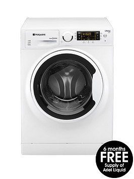 hotpoint-ultima-s-line-rpd10457j-10kg-load-1400-spin-washing-machine-white