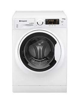 Hotpoint Ultima SLine Rpd10457J 1400 Spin 10Kg Load Washing Machine  White