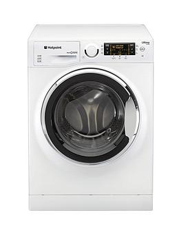 Hotpoint Ultima SLine Rpd10657Jx 1600 Spin 10Kg Load Washing Machine  WhiteChrome