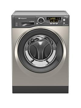 Hotpoint Ultima SLine Rpd9467Jgg 1400 Spin 9Kg Load Washing Machine  Graphite