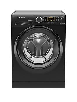 Hotpoint Ultima SLine Rpd9467Jkk 1400 Spin 9Kg Load Washing Machine  Black