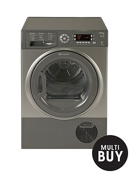 hotpoint-ultimanbsps-linenbspsutcd97b6gm-9kgnbspsensor-condenser-tumble-dryer-graphite