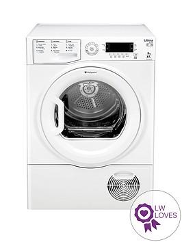 hotpoint-ultima-s-line-sutcdgreen9a1-9kgnbspheat-pump-dryer-white