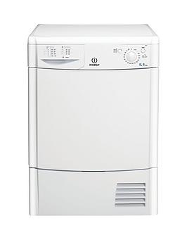 Indesit Indesit Ecotime Idc8T3B 8Kg Load Condenser Tumble Dryer - White Picture