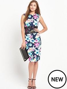 definitions-lace-insert-printed-midi-dress
