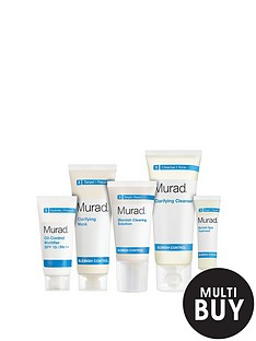 murad-free-gift-blemish-control-starter-kit-30-daysnbspamp-free-murad-age-reform-exfoliating-cleanser-200ml