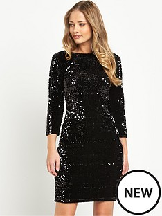 v-by-very-sequin-bodyconnbspdress